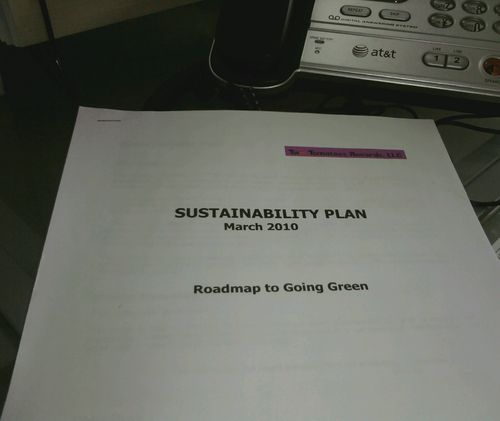Sustainability Plan 1