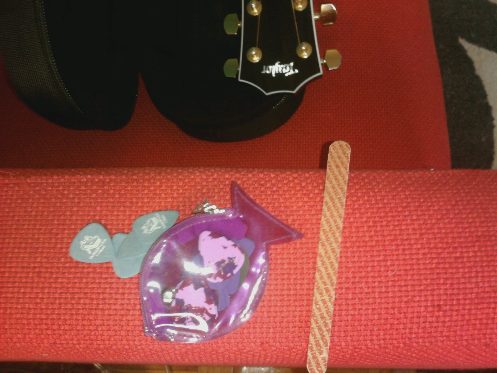 Picks and nail file