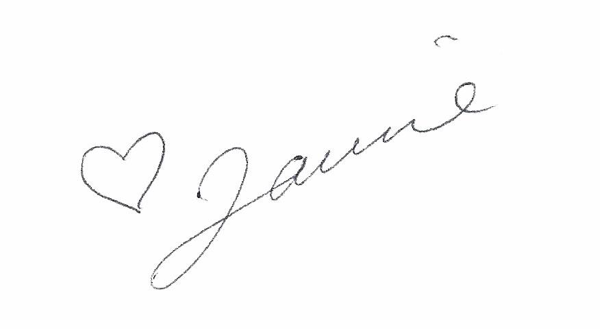 Laurie's Signature